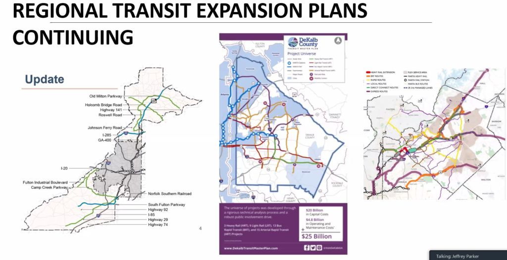 Regional Transit Expansion Plans